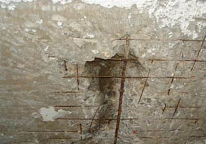 recuperação estrutural no concreto segregado com injeção poluiretano
